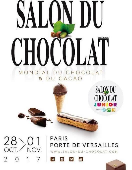 Le Salon du Chocolat à la Porte de Versailles du 28 octobre au 1 novembre 2017