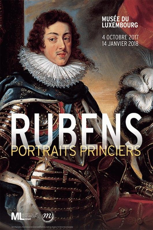 Exposition Rubens, portraits princiers au Musée du Luxembourg du 4 octobre 2017 au 14 janvier 2018