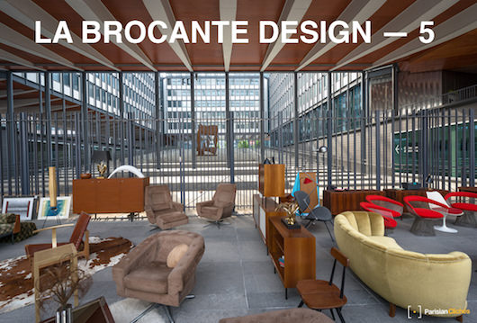 5ème édition de la Brocante Design, dimanche 15 octobre à Jussieu