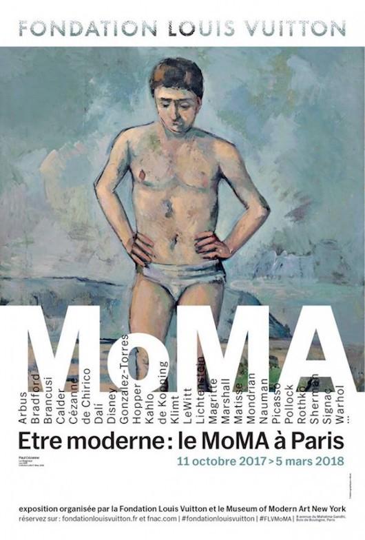 Exposition Être moderne - Le MoMa à Paris à la Fondation Vuitton du 11 octobre 2017 au 5 mars 2018