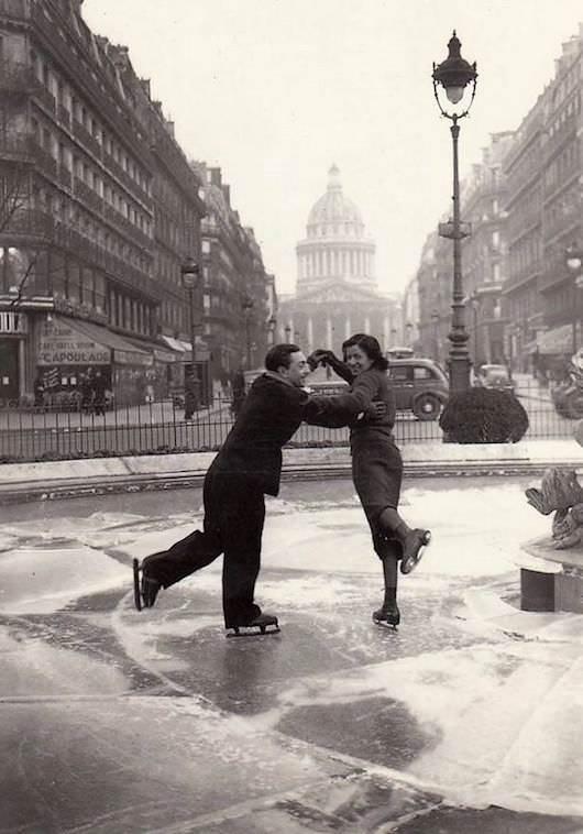 De belles photos de la rue Soufflot et du Panthéon - galerie de John d'Orbigny