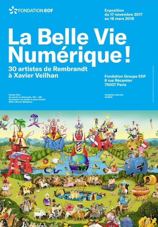 Exposition La Belle vie numérique ! à l'Espace Fondation EDF du 17 novembre 2017 au 18 mars 2018