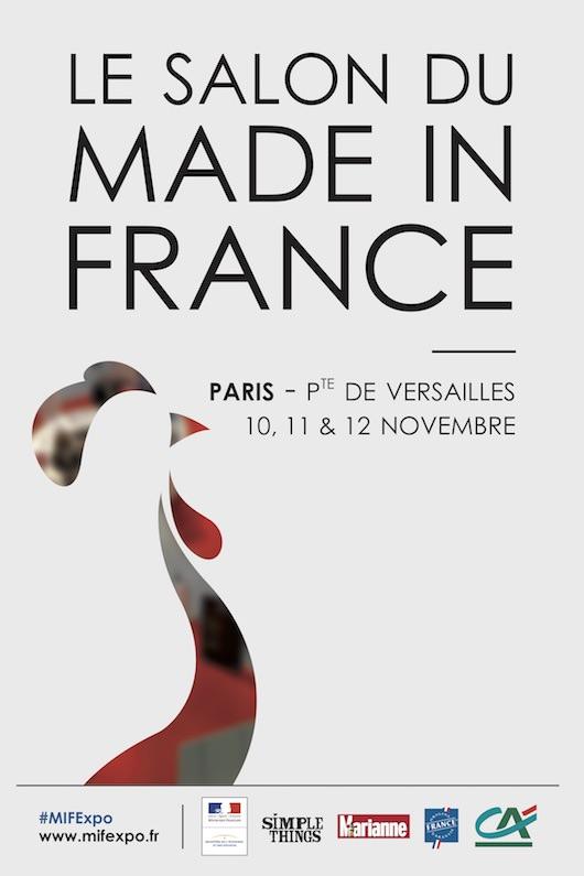 Salon Made in France à Paris Expo du 10 au 12 novembre 2017