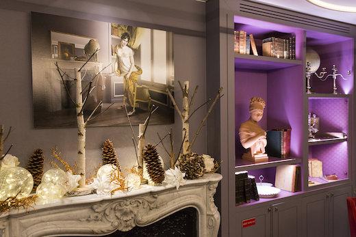 Les décorations de Noël 2017 à la Belle Juliette