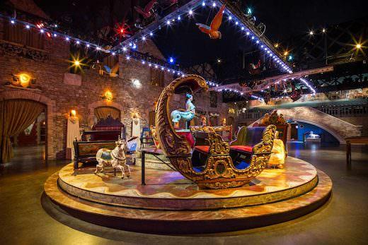 Le Festival du Merveilleux au Musée des Arts Forains du 26 décembre 2017 au 7 janvier 2018