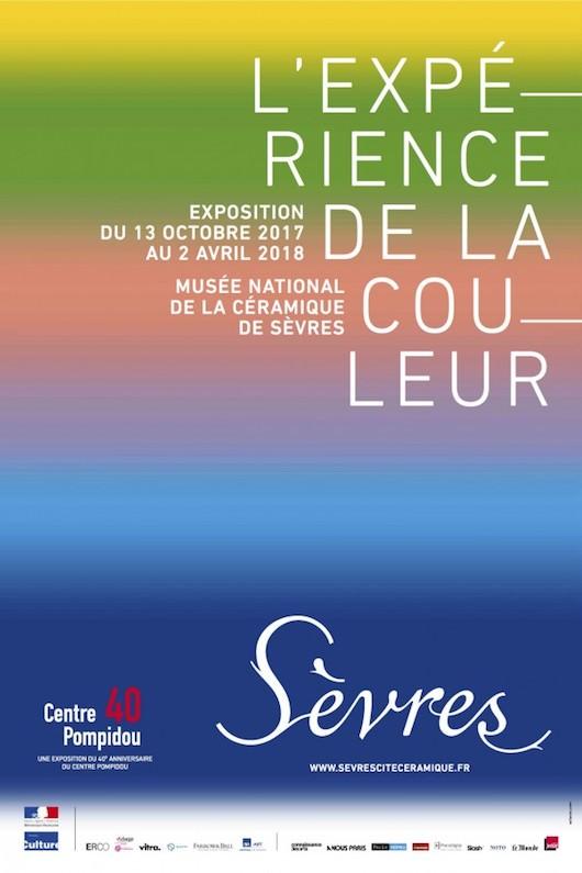 Exposition L'Expérience de la couleur <br>au Musée national de céramique <br>jusqu'au 2 avril 2018