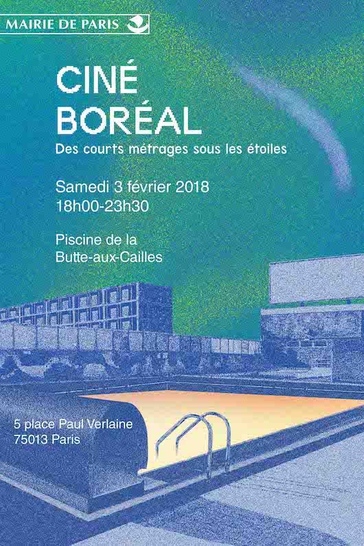 Ciné Boréal | Courts métrages à la Piscine samedi 3 février à la Piscine de la Butte aux Cailles