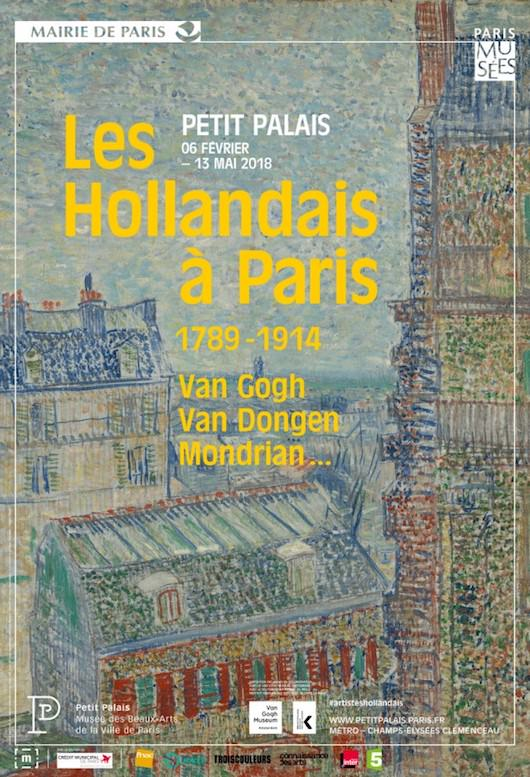 Exposition Les Hollandais à Paris au Petit Palais du 6 février au 13 mai 2018