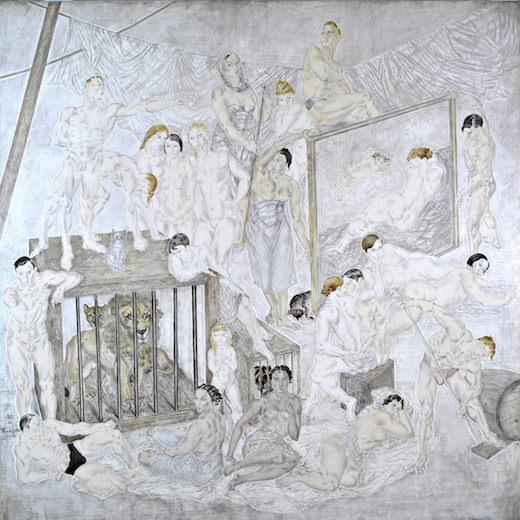 8a03d767157 Exposition Foujita   peindre dans les années folles au Musée Maillol du 7  mars au 15