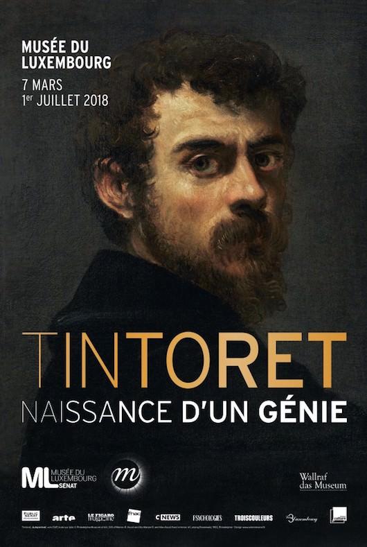 Exposition Tintoret - naissance d'un génie au Musée du Luxembourg du 7 mars au 1 juillet 2018