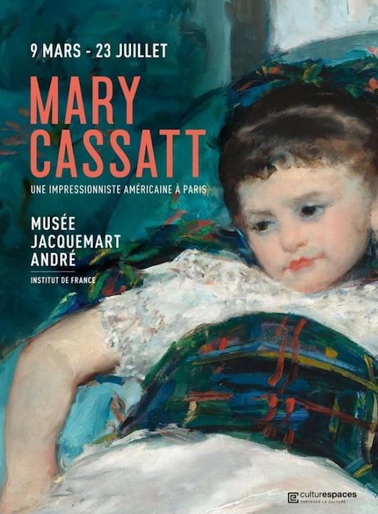 Exposition Mary Cassatt Une impressionniste américaine à Paris au Musée Jacquemart-André du 9 mars au  23 juillet 2018