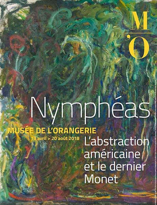 Exposition Nymphéas à l'Orangerie du 13 avril au 20 août 2018
