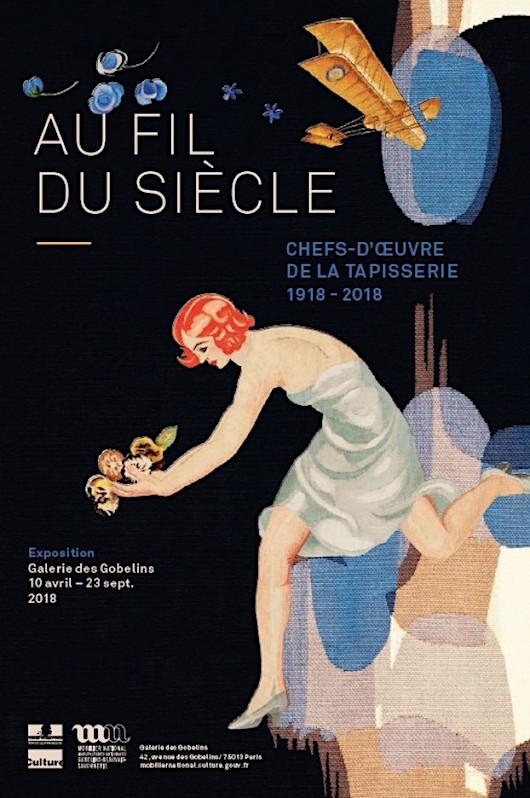 Exposition Au fil du siècle, 1918-2018 à la Galerie des Gobelins du 10 avril au 23 septembre 2018