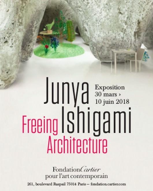 Exposition Junya Ishigami, Freeing Architecture à la Fondation Cartier jusqu'au 10 juin 2018