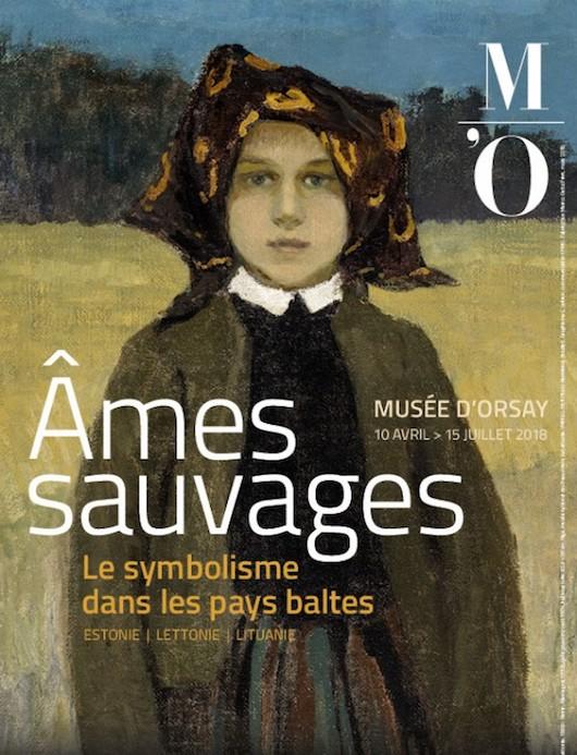 Exposition Âmes sauvages. Le symbolisme dans les pays baltes au Musée d'Orsay du 10 avril au 15 juillet 2018