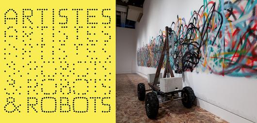 Exposition Artistes & robots au Grand Palais du 5 avril au 9 juillet 2018