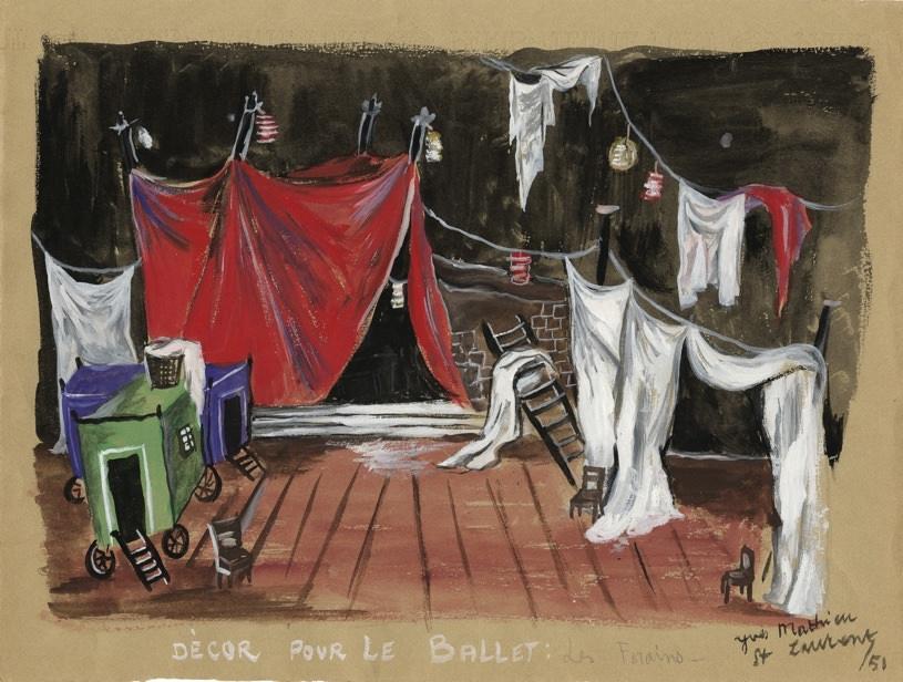 Exposition Yves Saint Laurent, les dessins de jeunesse au Musée Yves Saint Laurent du 29 mai au 9 septembre 2018