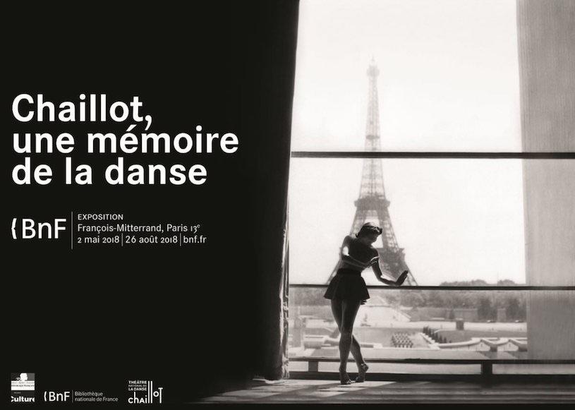 Exposition Chaillot, une mémoire de la danse à la BNF du 3 mai au 26 août 2018