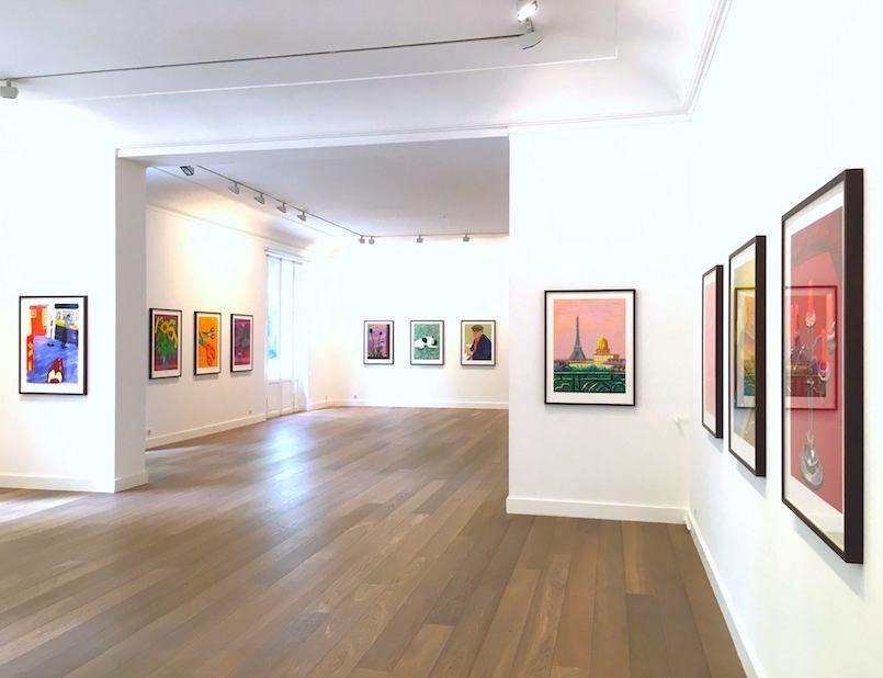 Exposition Pictures of Daily Life de David Hockney à la Galerie Lelong jusqu'au 13 juillet 2018