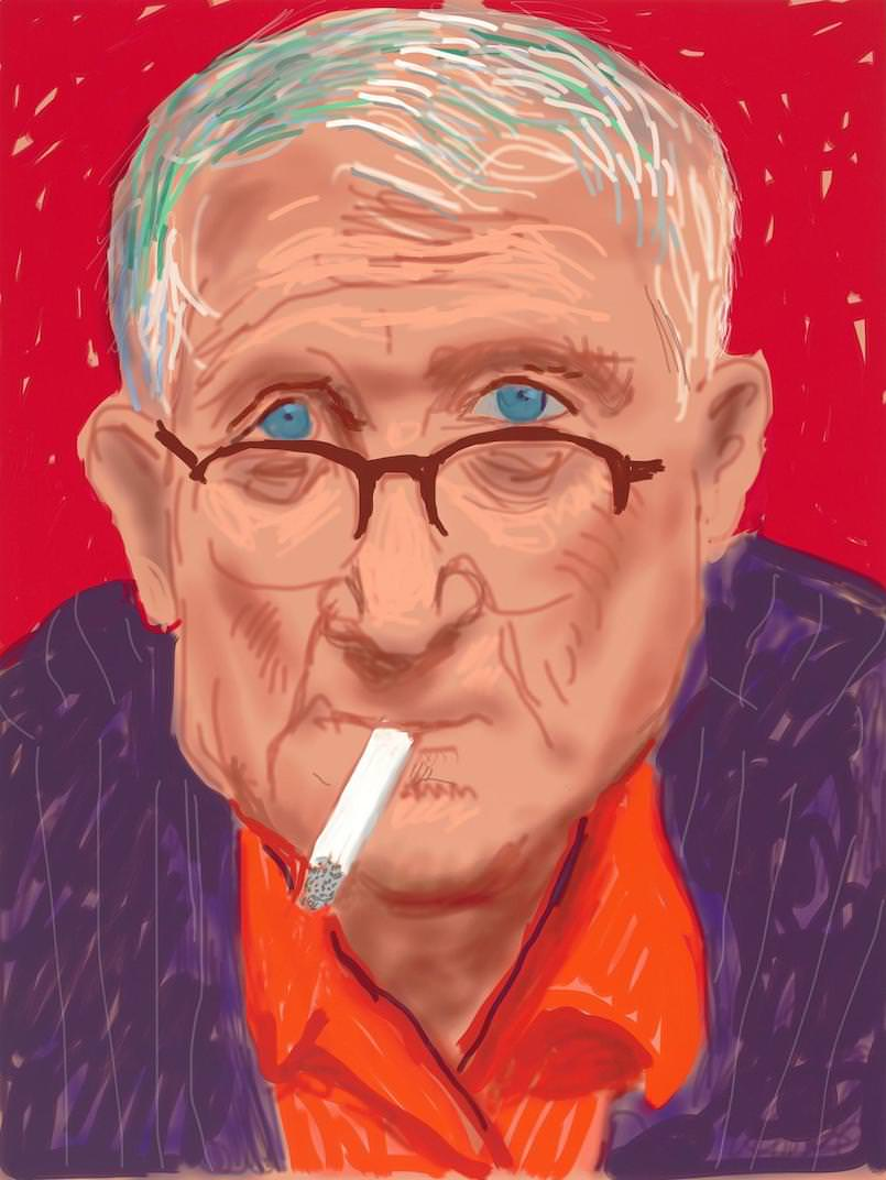 Exposition Pictures of Daily Life de David Hockney à la Galerie Lelong jusqu'au 13 juillet 2018