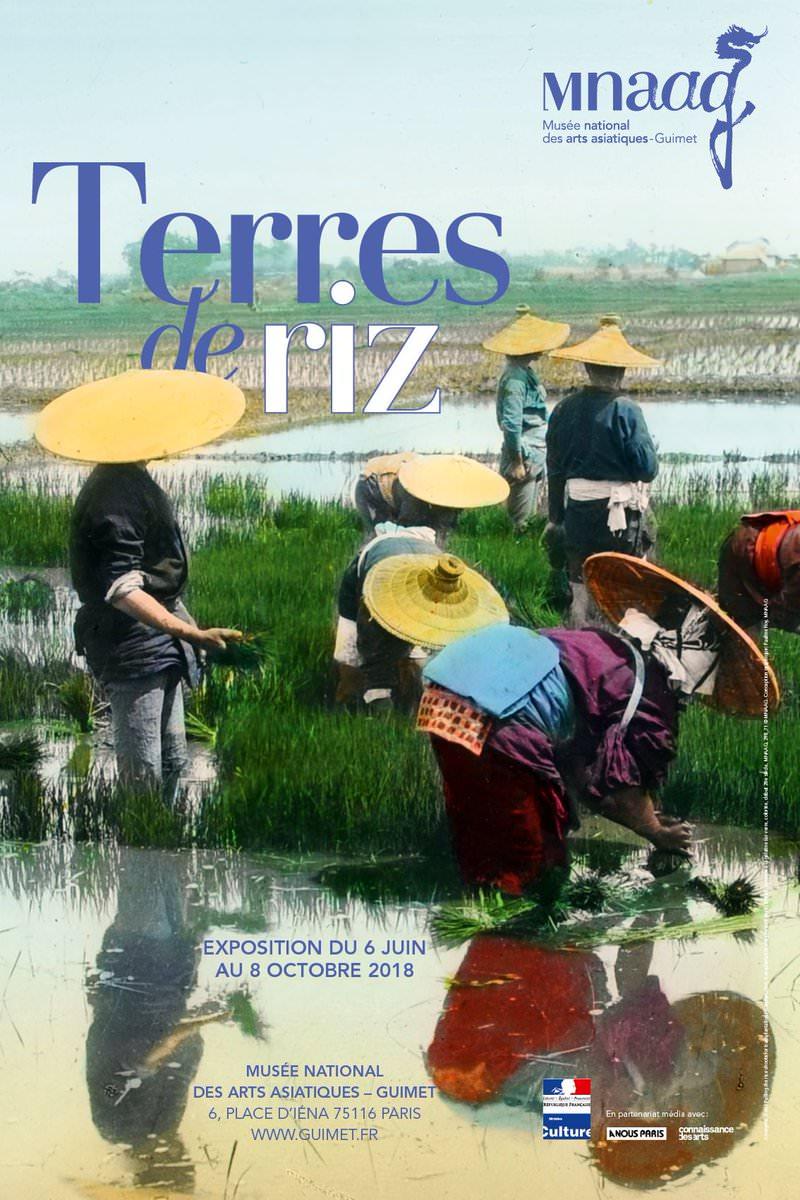 Exposition Terres de riz au Musée Guimet jusqu'au 8 octobre 2018