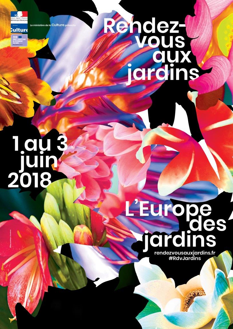 Rendez-vous aux jardins du 1er au 3 juin 2018