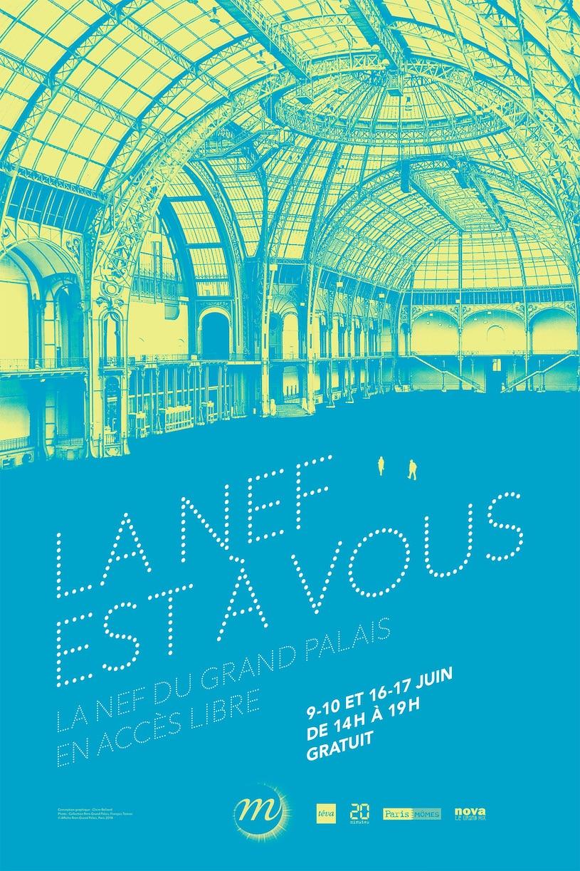 La Nef est à vous au Grand Palais le 9, 10, 16 & 17 juin 2018