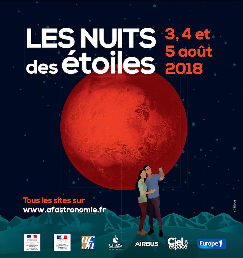 Les Nuits des Étoiles à la Tour Montparnasse du 3 au 5 août 2018