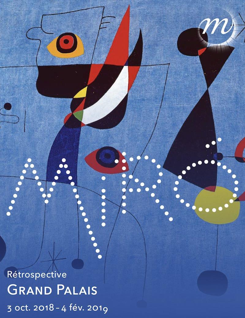 Rétrospective Miró au Grand Palais du 3 octobre 2018 au 4 février 2019