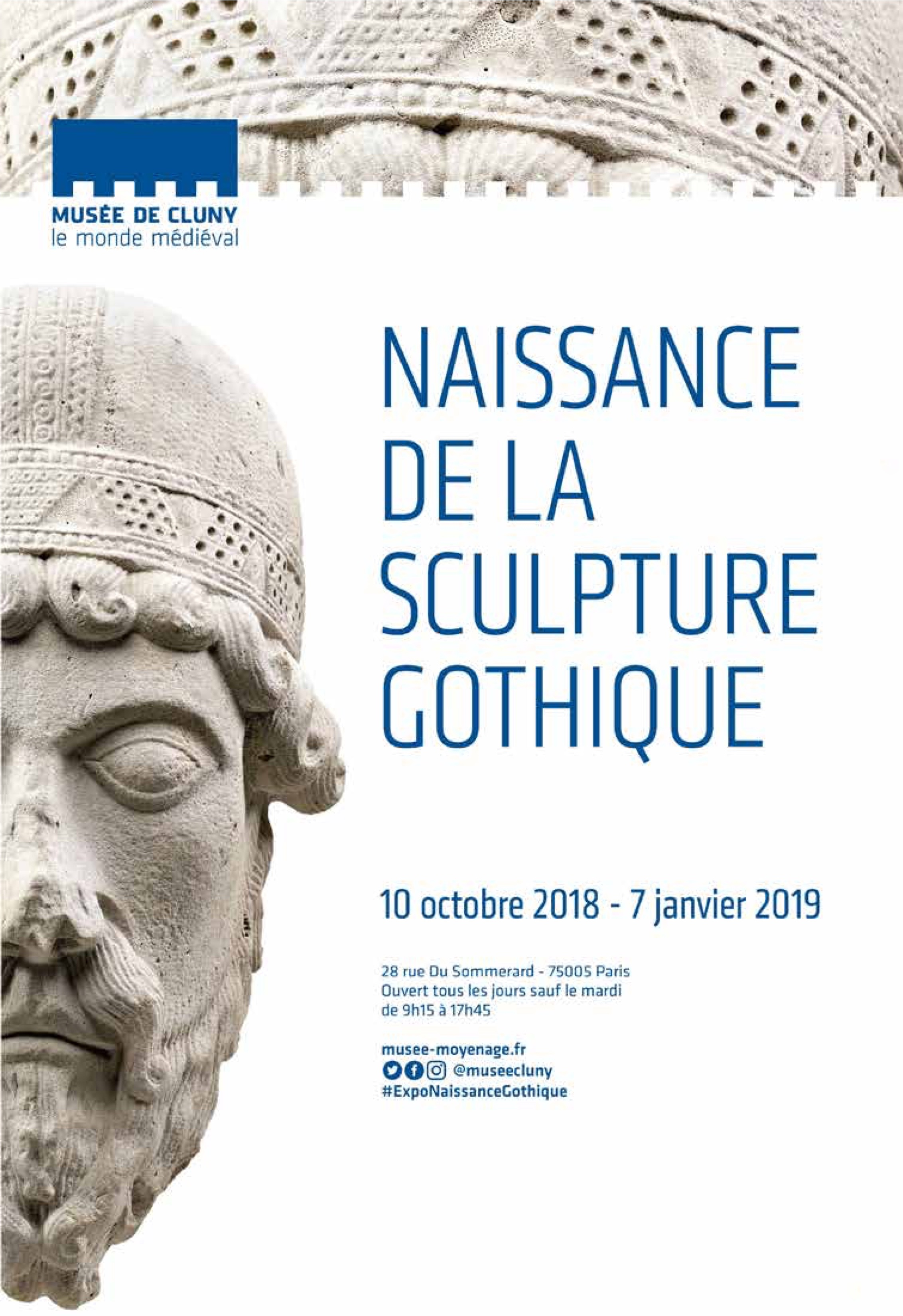 Exposition Naissance de la sculpture gothique au Musée de Cluny du 10 octobre 2018 au 7 janvier 2019