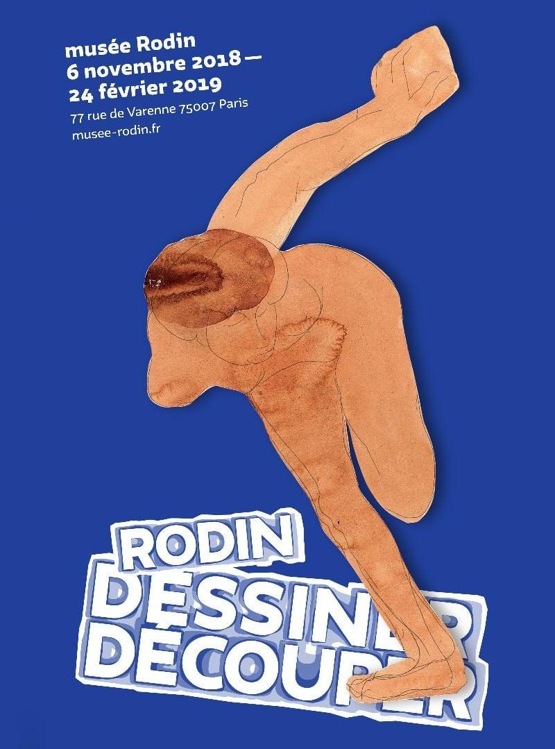 Exposition Rodin - dessiner, découper au Musée Rodin du 6 novembre 2018 au 24 février 2019