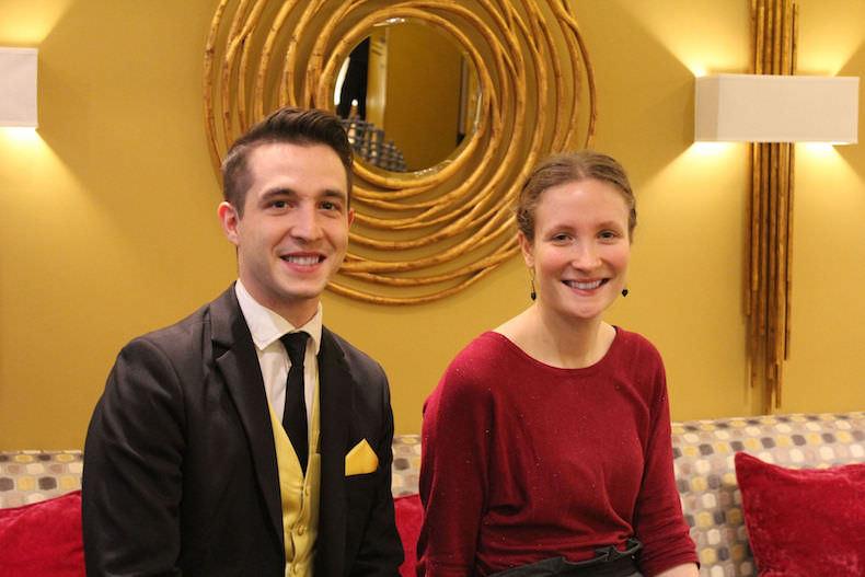 Deux réceptionnistes HPRG sont peut-être les meilleurs de Paris !
