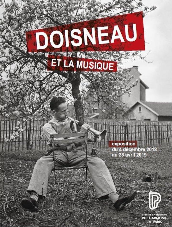 Exposition Doisneau et la musique à la Philharmonie de Paris du 4 décembre 2018 au 28 avril 2019