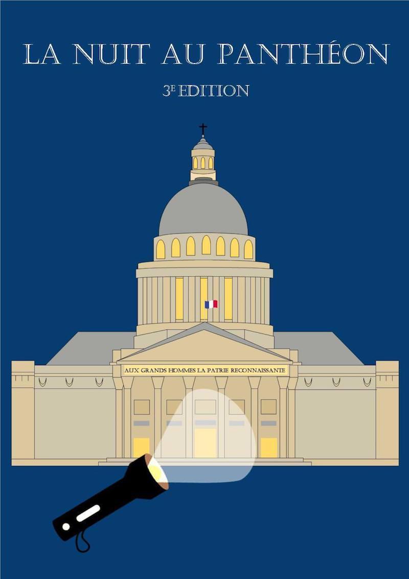 La Nuit au Panthéon du 5 décembre 2018 au 30 janvier 2019