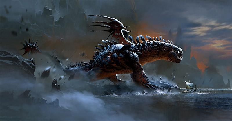 Exposition L'Épopée artistique de la Trilogie Dragons au Musée Art Ludique hors les murs du 31 janvier au 24 février 2019