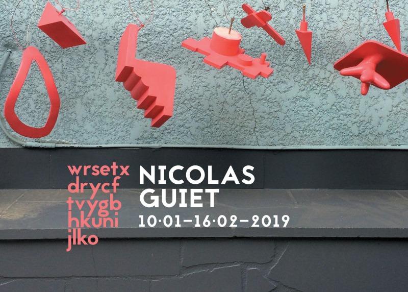 Exposition wrsetxdrycftvygbhkunijlko de Nicolas Guiet à la Galerie Jean Fournier du 10 janvier au 16 février 2019
