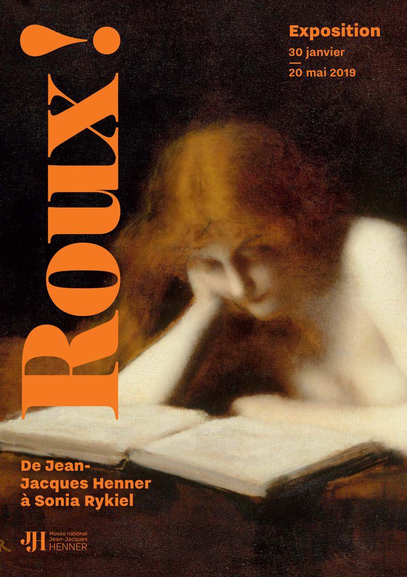 Exposition Roux ! au Musée Jean-Jacques Henner du 30 janvier au 20 mai 2019