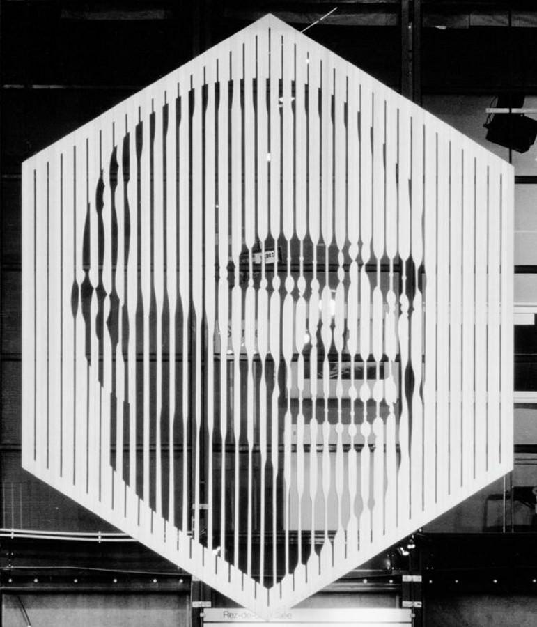 Rétrospective Vasarely au Centre Pompidou du 6 février 2019 au 6 mai 2019