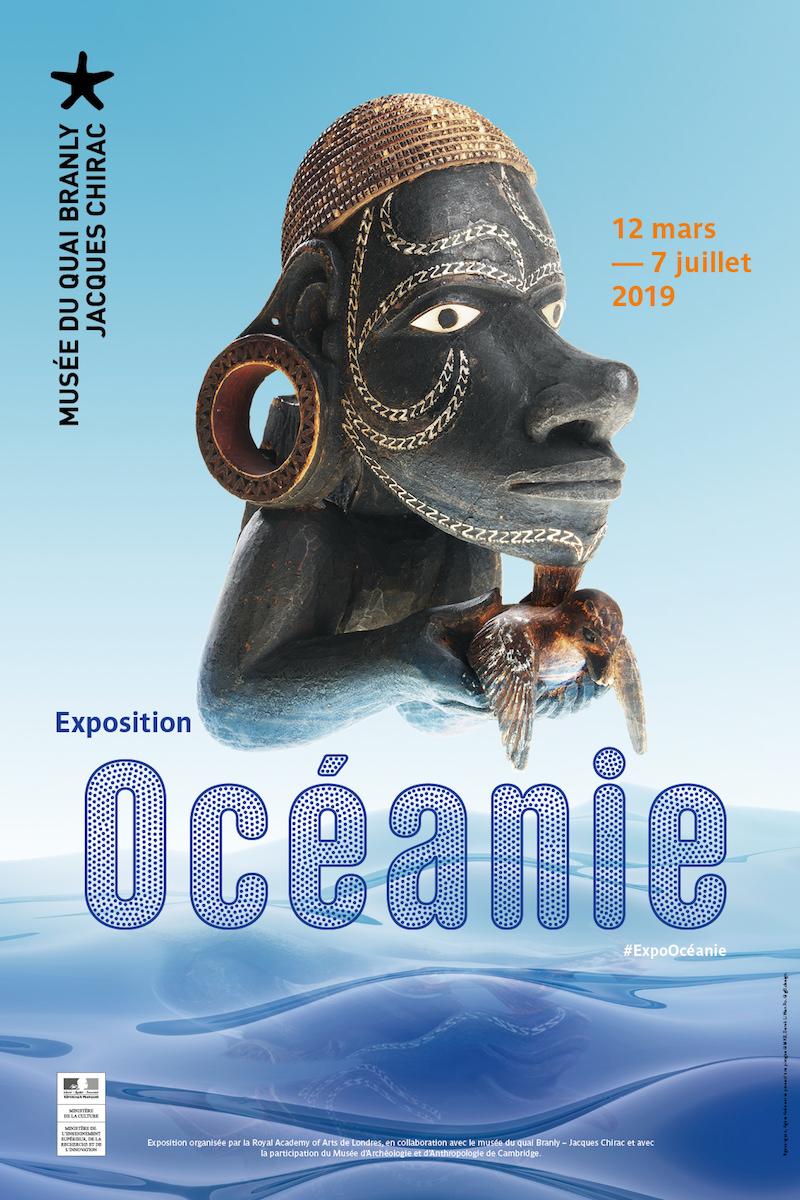 Expositions Océanie et Anting-Anting au Musée Quai Branly jusq'au 7 juillet / 26 mai 2019
