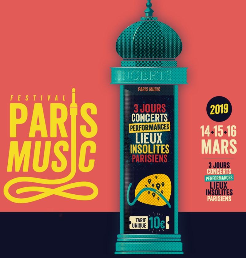 Festival Paris Music le 14, 15 & 16 mars 2019