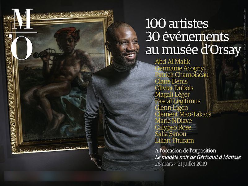 Exposition Le modèle noir de Géricault à Matisse au Musée d'Orsay du 26 mars au 21 juillet 2019