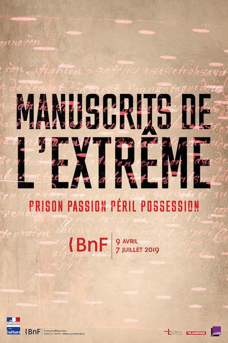 Exposition Manuscrits de l'extrême à la BNF jusqu'au 7 juillet 2019