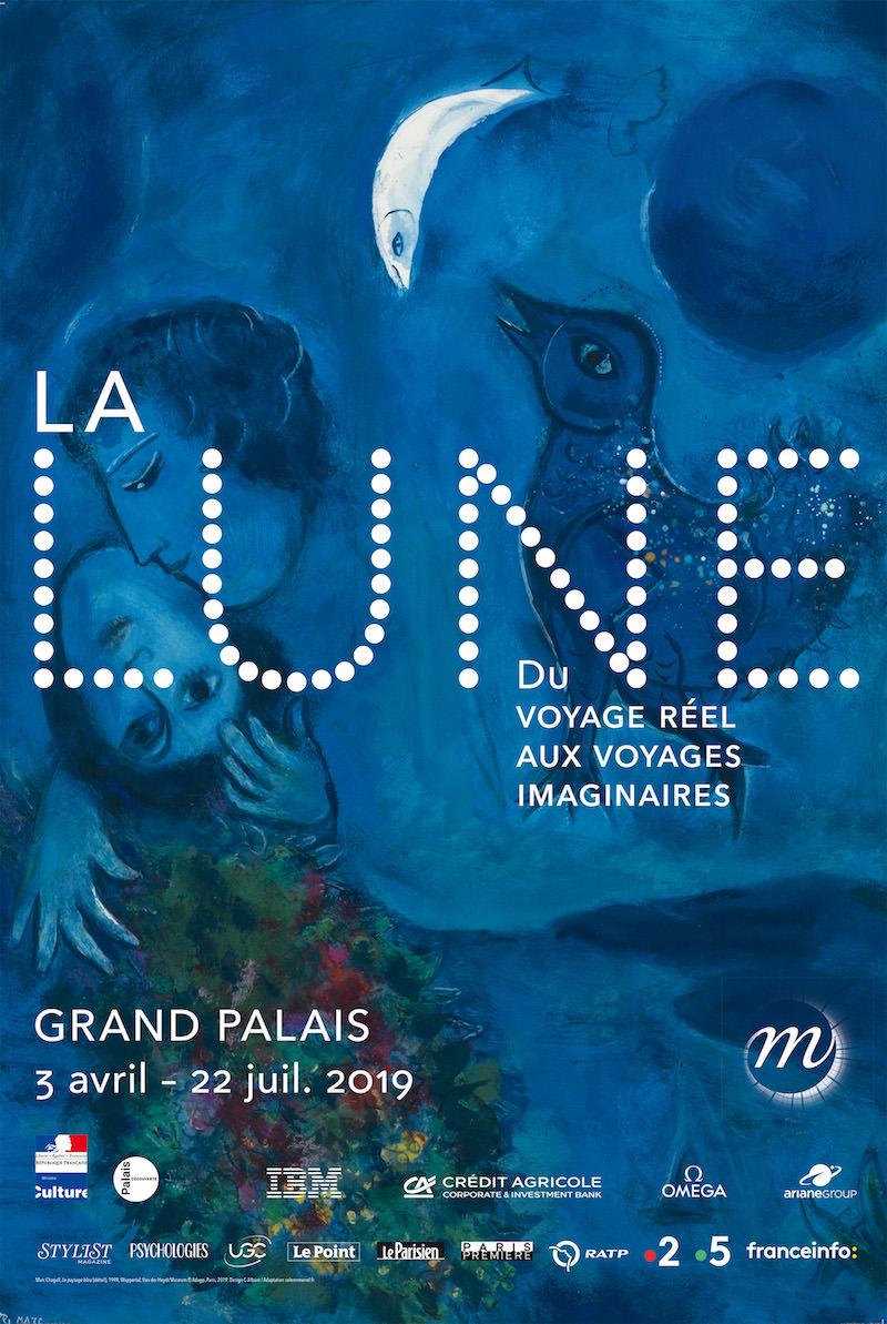 Exposition La Lune au Grand Palais du 3 avril au 22 juillet 2019