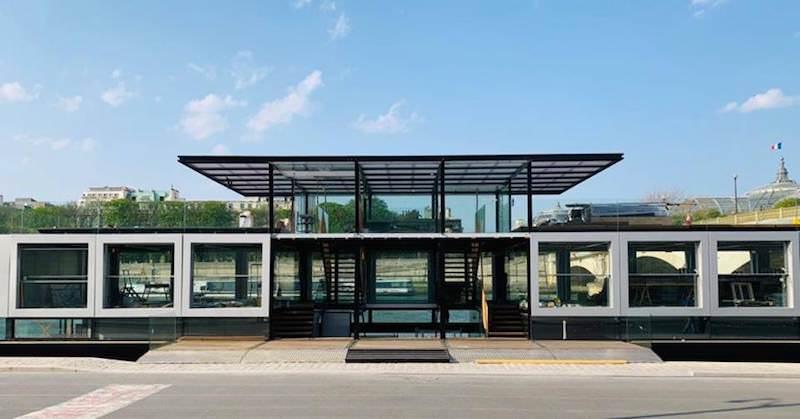 Fluctuart - un nouveau centre d'art urbain sur la Seine, Rive Gauche