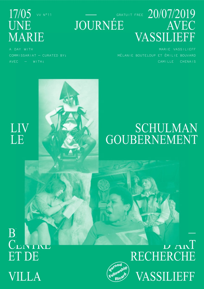 Liv Schulman - Le Goubernement à la Villa Vassilieff du 17 mai au 20 juillet 2019