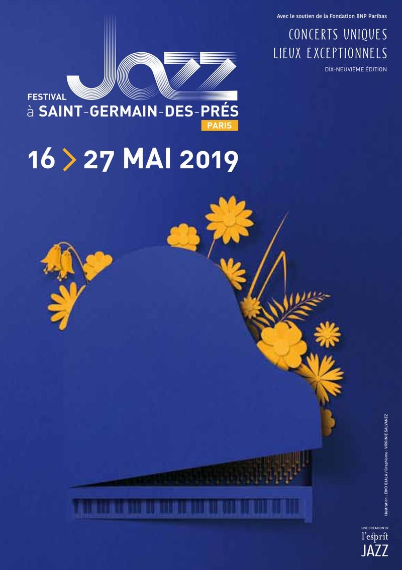 Festival Jazz à Saint-Germain-des-Prés du 16 au 27 mai 2019