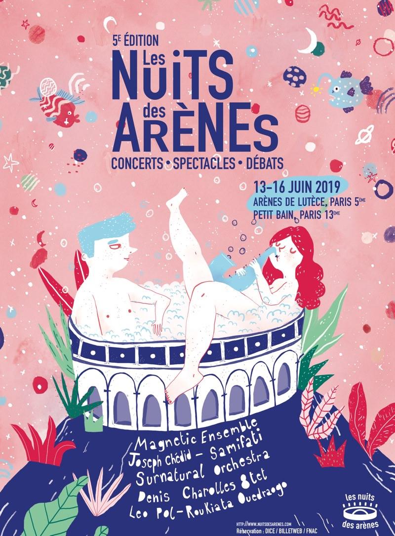 Les Nuits des Arènes jusqu'au 16 juin 2019