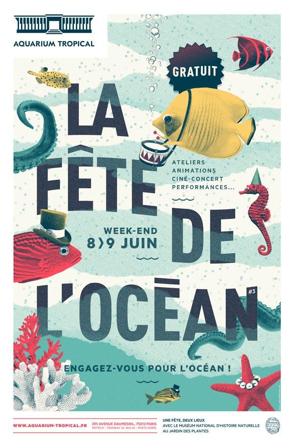 La Fête de l'Océan 2019 au Palais de la Porte Dorée et au Muséum national d'Histoire naturelle, du 7 au 9 juin