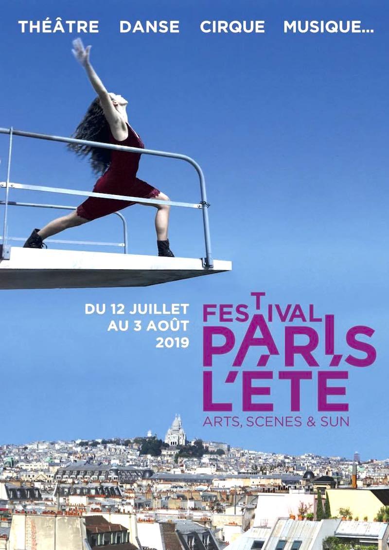 Festival Paris l'été du 12 juillet au 3 août 2019