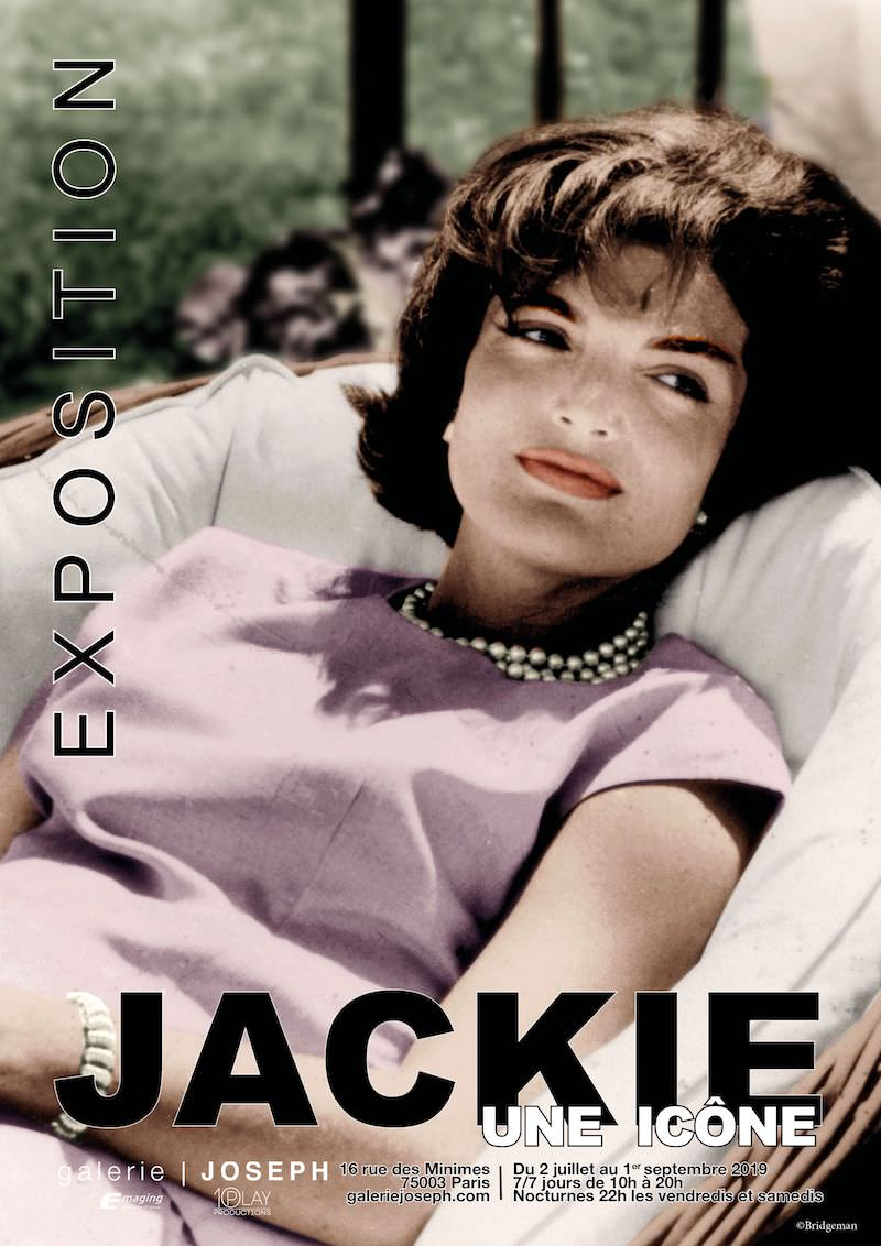 Jackie, an icon exhibition at the Joseph Gallery until 1st September 2019